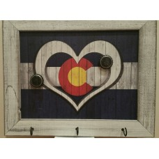 Dog Paw Heart Picket Fence