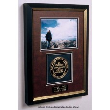 Single Framed Summit Marker with your 5X7 Photo