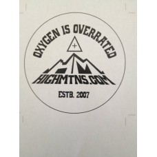 Highmtns Window Decal