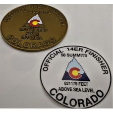 14ER FINISHER 58 STICKER